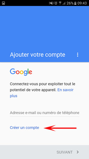 comment cr u00e9er un compte google play store